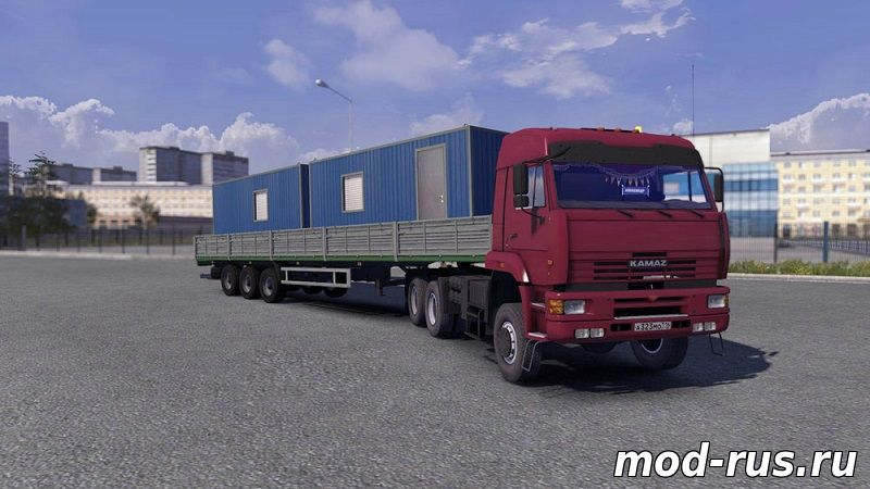 скачать мод для Euro Truck Simulator 2 камаз - фото 10