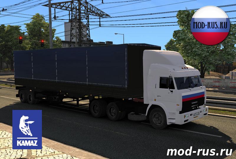 Скачать мод на прицеп из дальнобойщиков для euro truck simulator 2