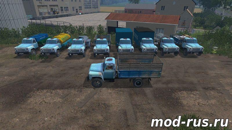 скачать моды для farming simulator 2015 газ 51 пак