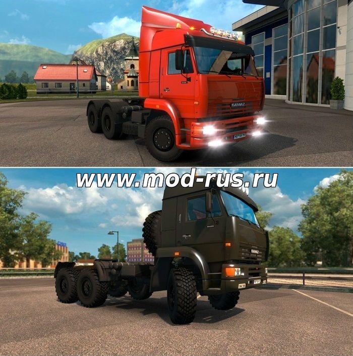 скачать моды для Euro Truck Simulator 2 русские грузовики - фото 7
